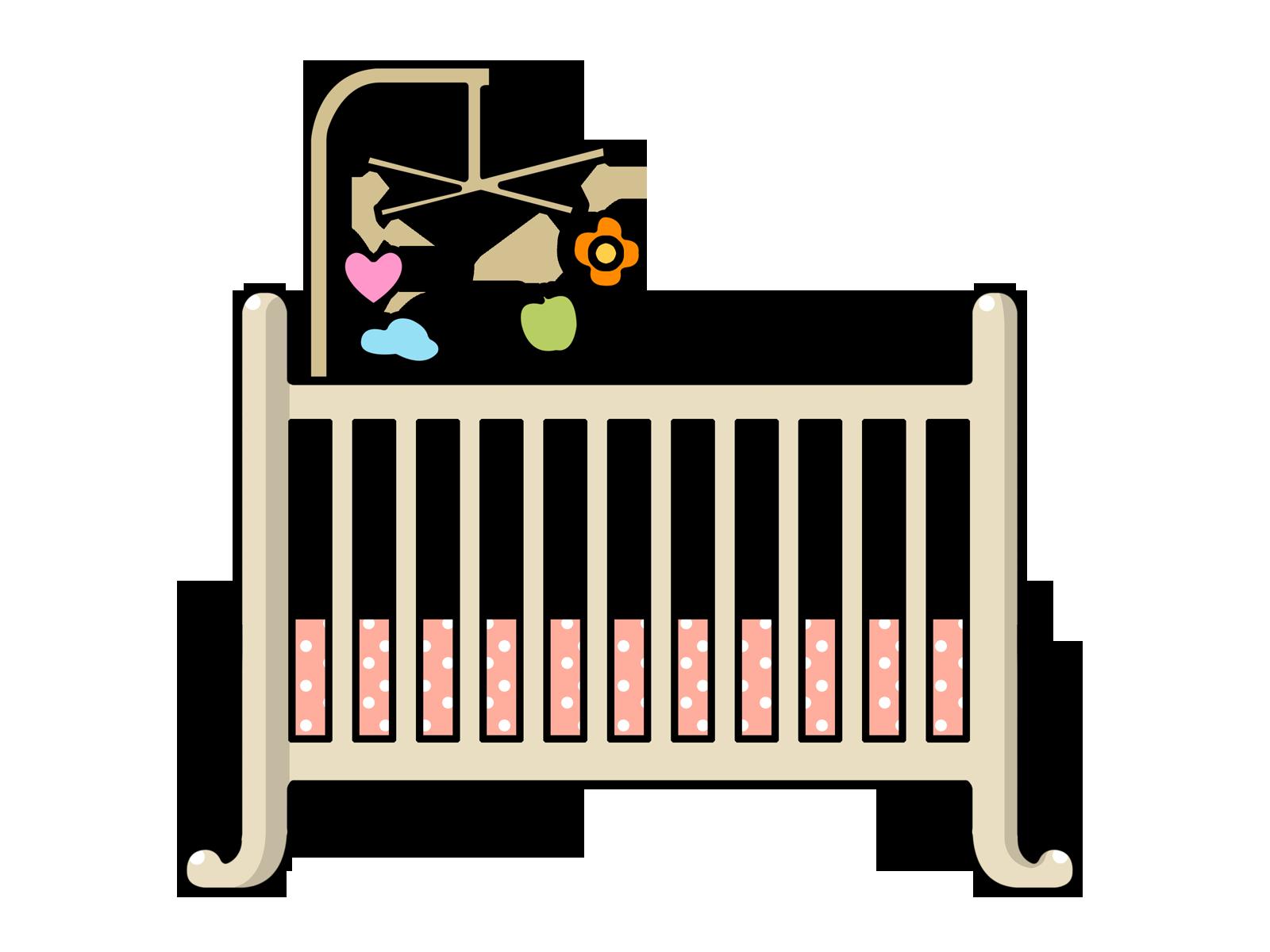 cot clipart free download clip art free clip art on clipart rh pinterest com au baby girl crib clipart Baby Stuff Clip Art