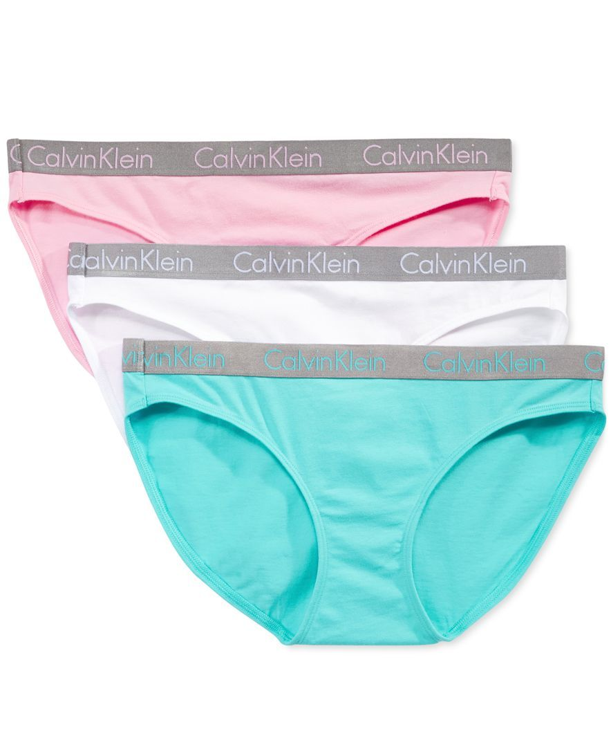 753df4c89b2d Radiant Cotton Bikini 3-Pack QD3589   Products   Bikinis, Calvin ...