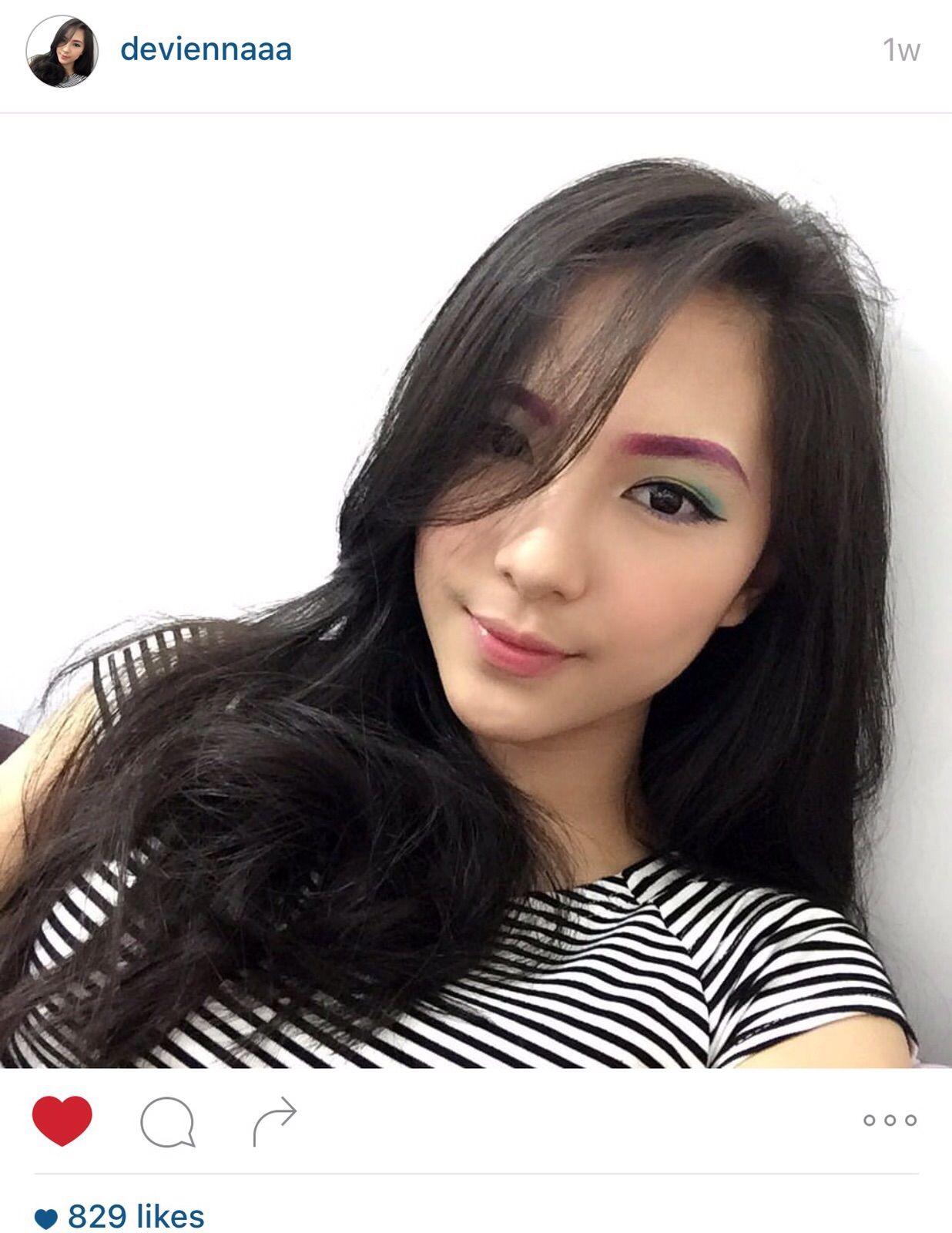Devienna Cewe Super Cantik Jago Makeup Kaskus The Largest