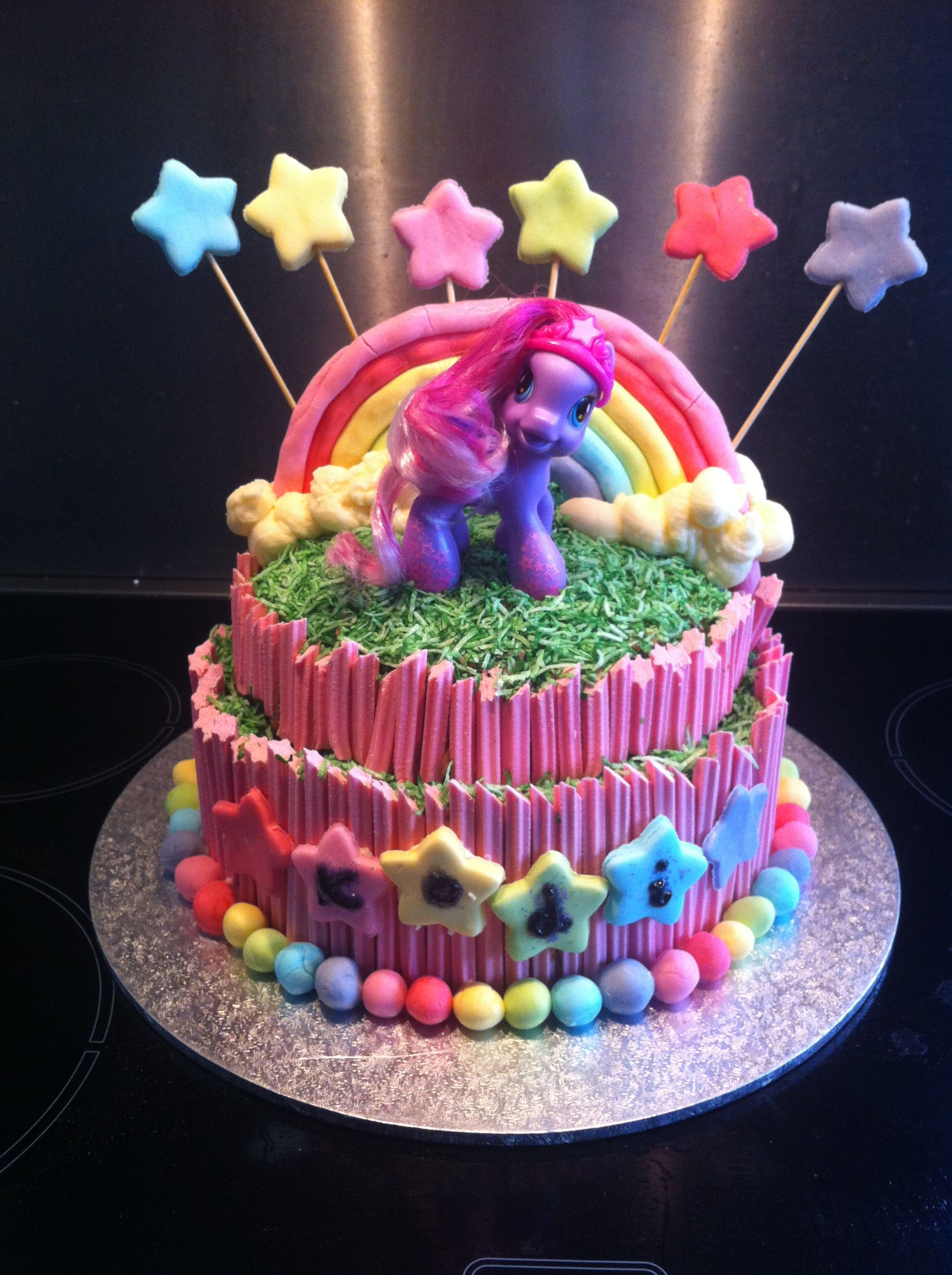 My little pony cake easy cake decorating my little pony