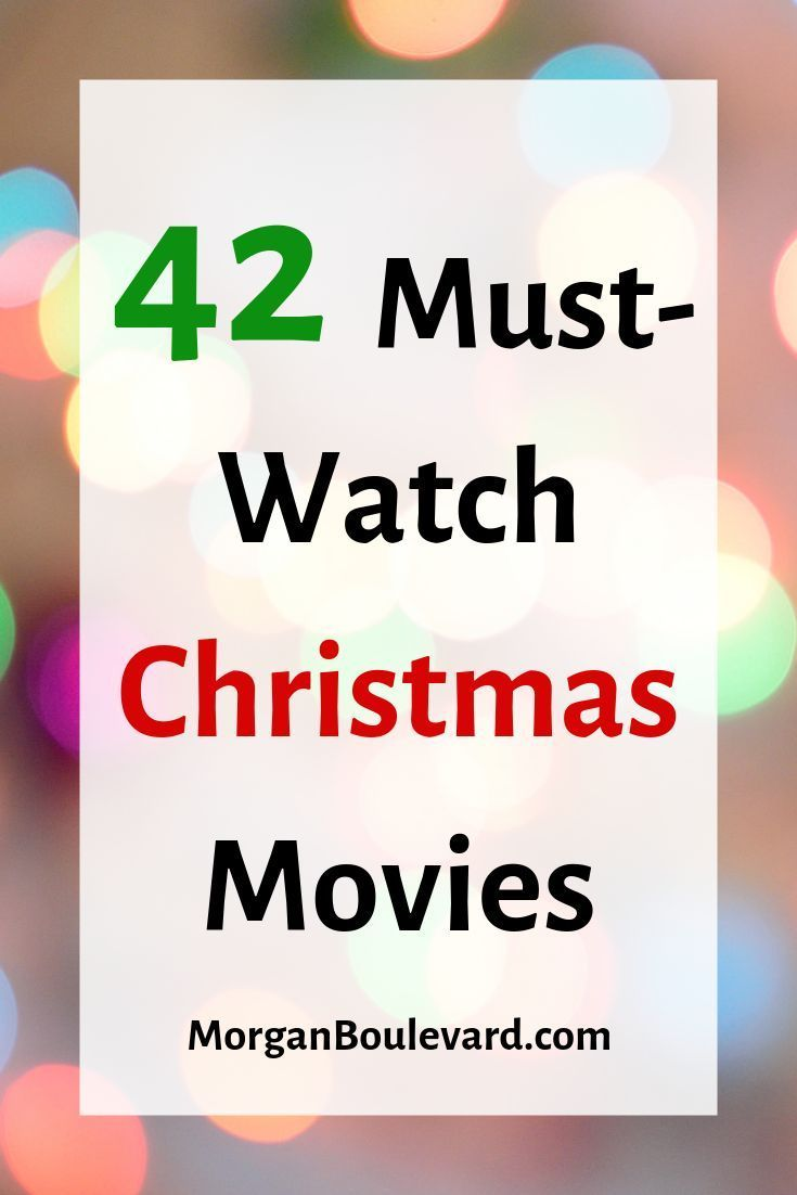 This list has the best Christmas movies to watch on it! It has movies that are classic, iconic, popular, and funny. These movies are great for kids, for teens, and your family. Some are Disney movies. #christmas #christmasmovies
