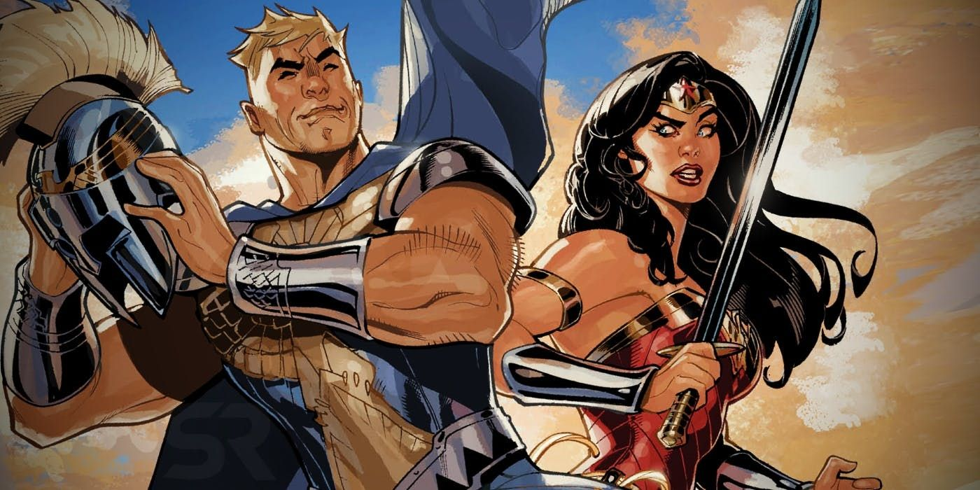 Wonder Womans Brother Ares Is Dcs Newest Superhero Comics News