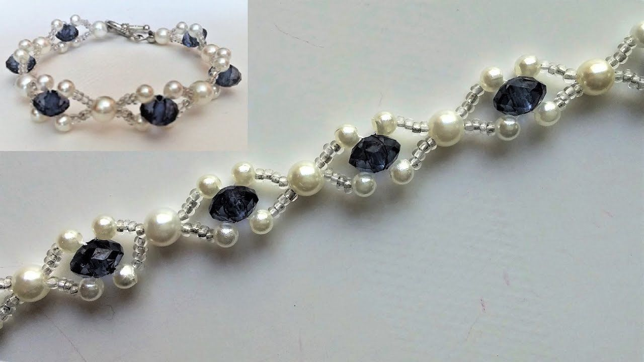 Beaded wedding jewelry pattern how to make an elegant