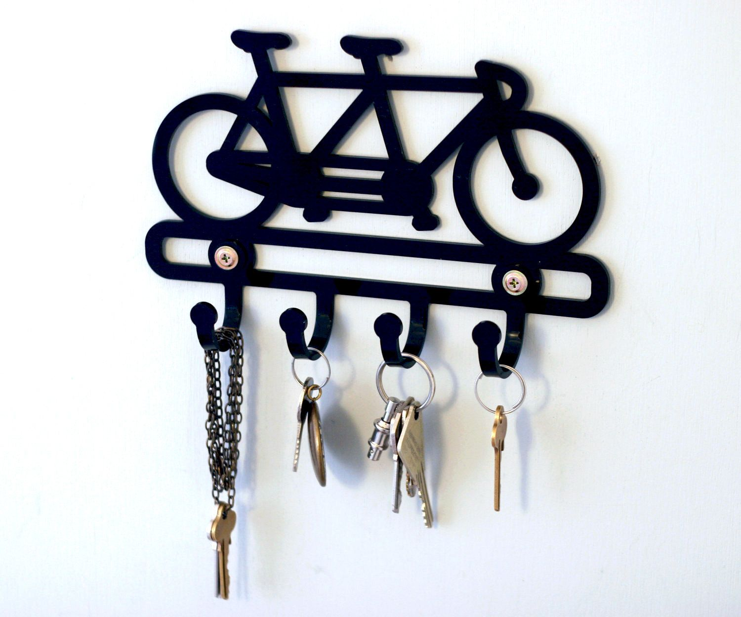 Uncategorized Key Holder For The Wall bike rack key gifts tandem bicycle holder hook wall holder
