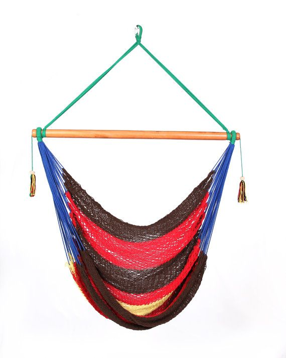 colorful hammock chair by veronicacolindres on etsy 42 00