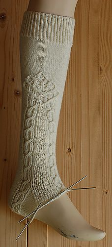 German Lace Sock