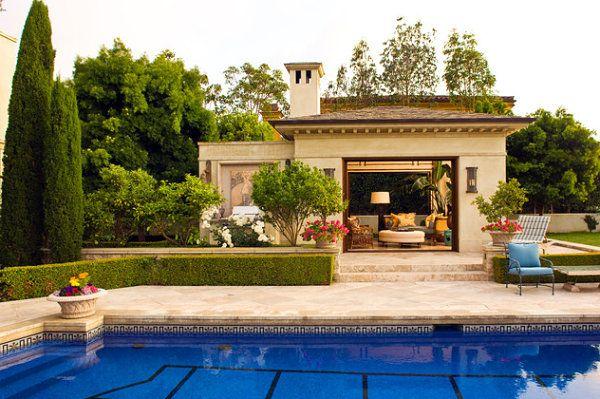 Mediterrane Gartenhäuser gartenhaus ideen mit charmantem und stilvollem design
