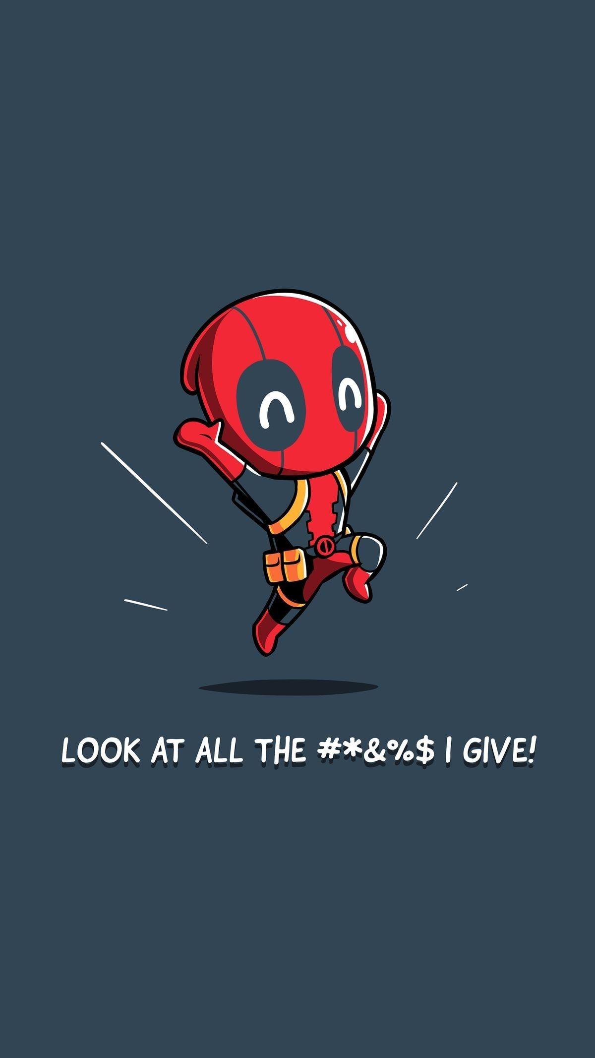Cursing Happy Deadpool Deadpool Funny Deadpool Wallpaper Iphone Deadpool Wallpaper