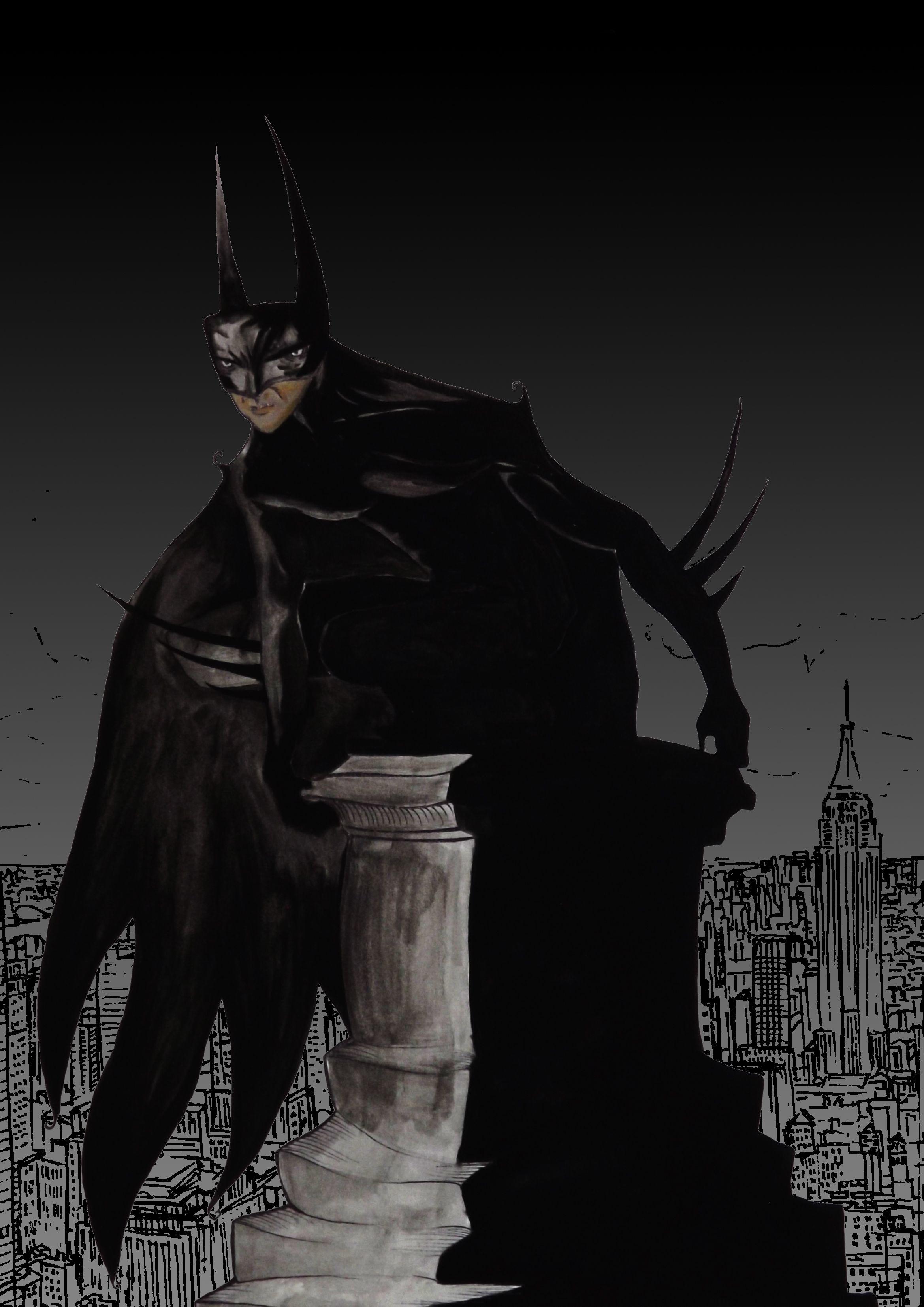 """Dark Detective"", 2014 - based on the character ""Batman"" created by Bob Kane. Print 5/5 $60"
