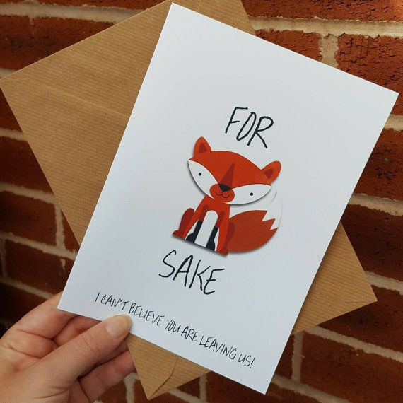 new job card  moving on  for fox sake i can't believe