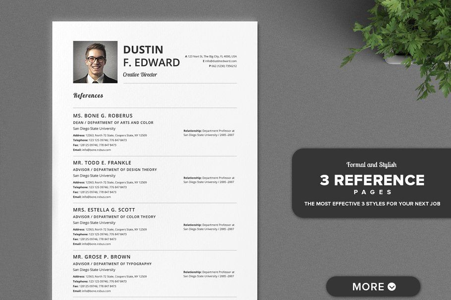 21 Timeless Resume CV Set No Icons in 2020 Resume cv