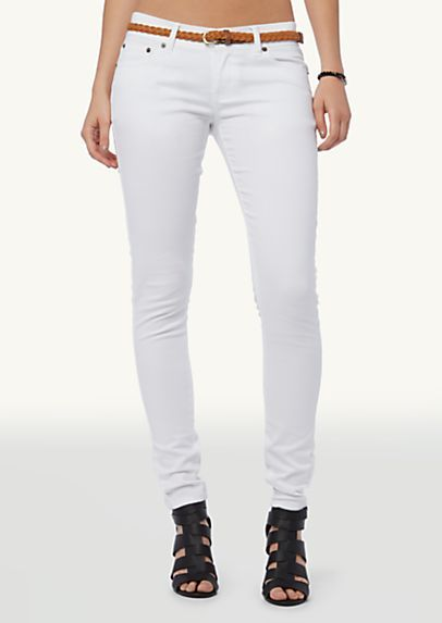 white skinny jeans - rue21