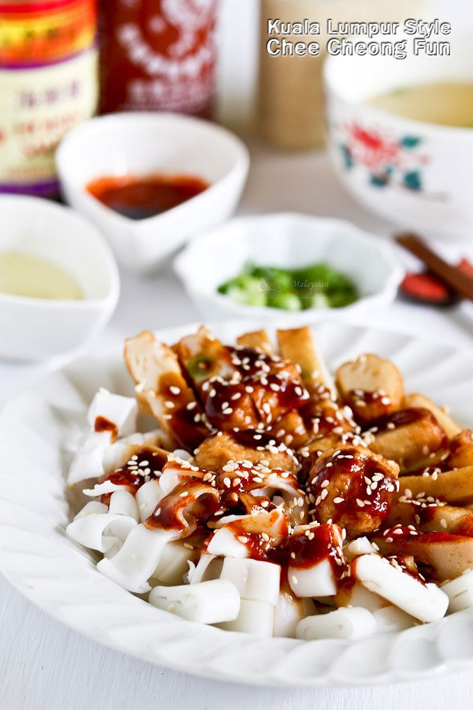 easy to put together kuala lumpur style chee cheong fun