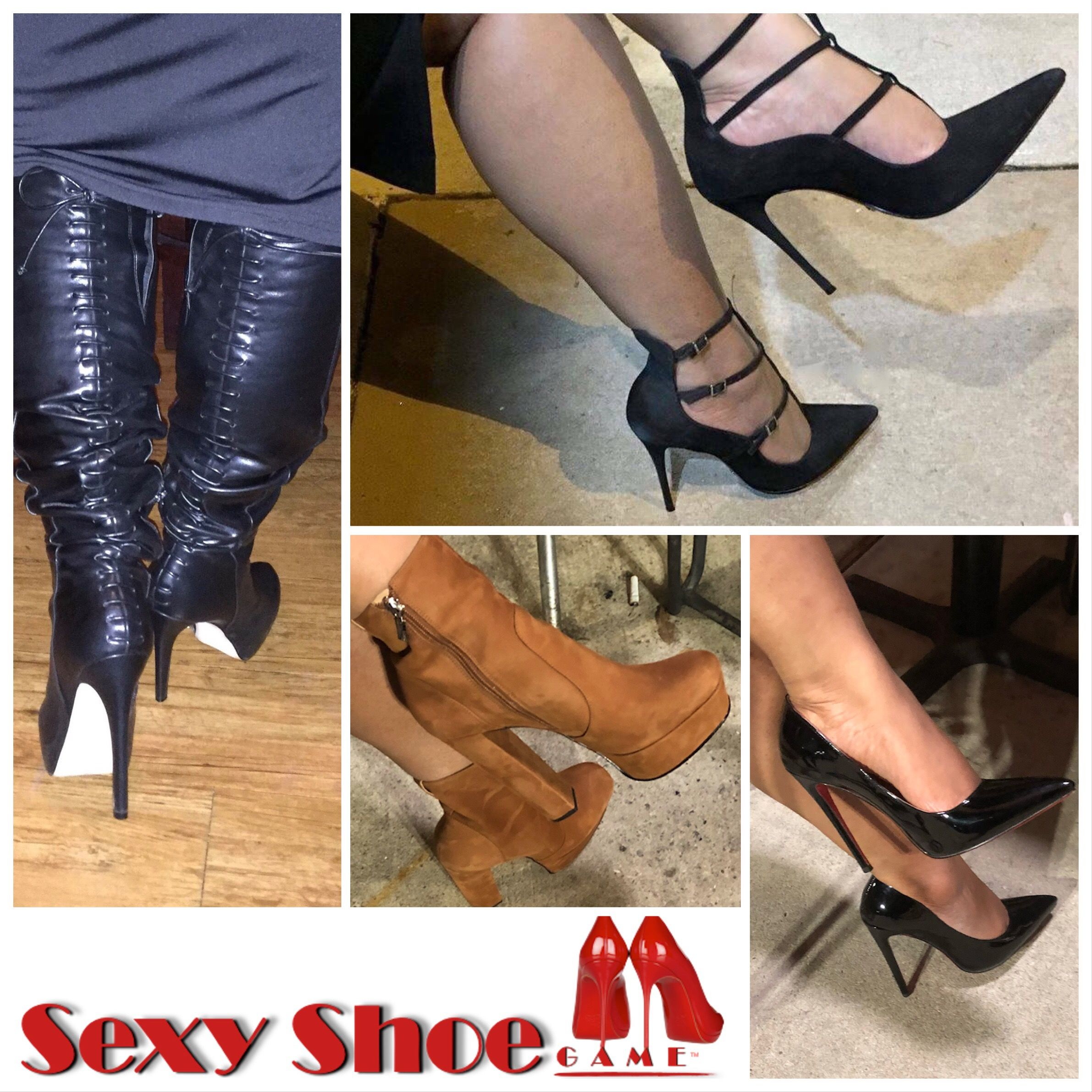 Pin on Sexy Shoe Game