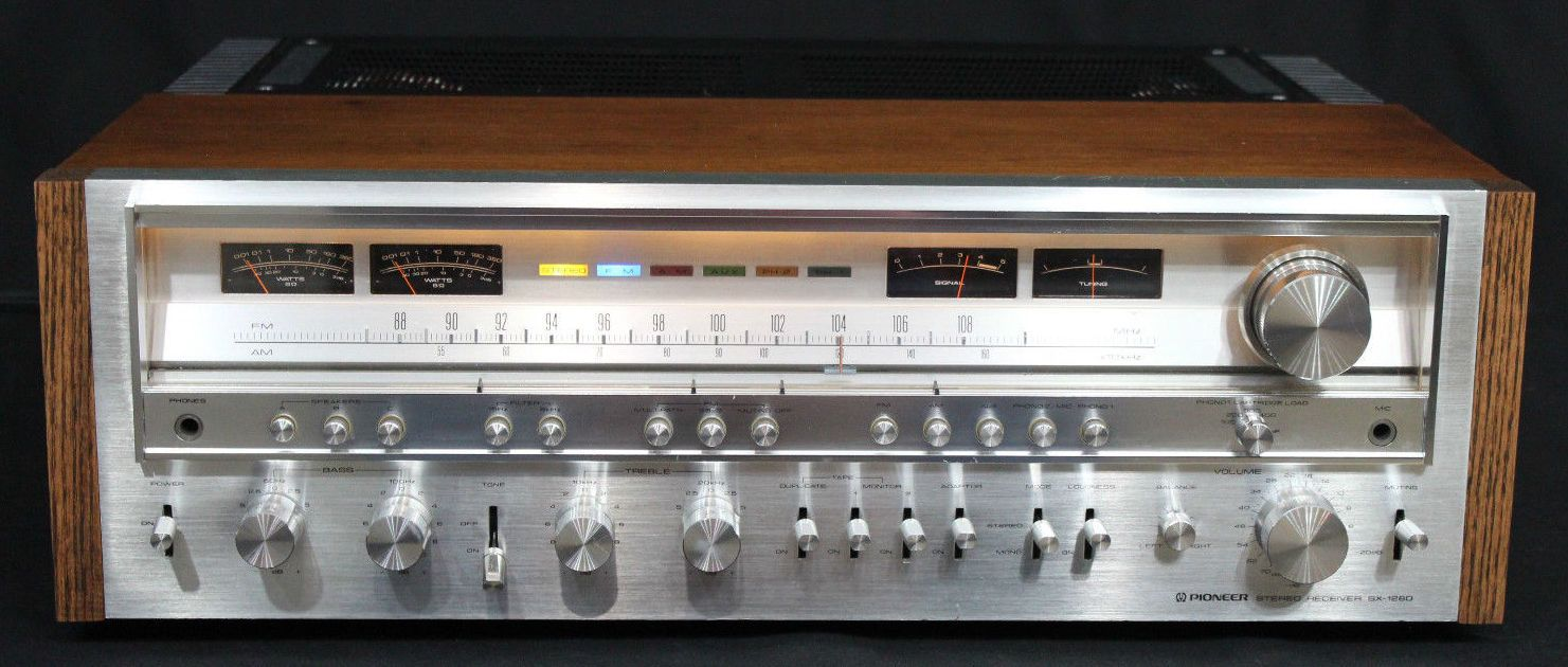 Top 10 Vintage Stereo Receivers Technology Audio
