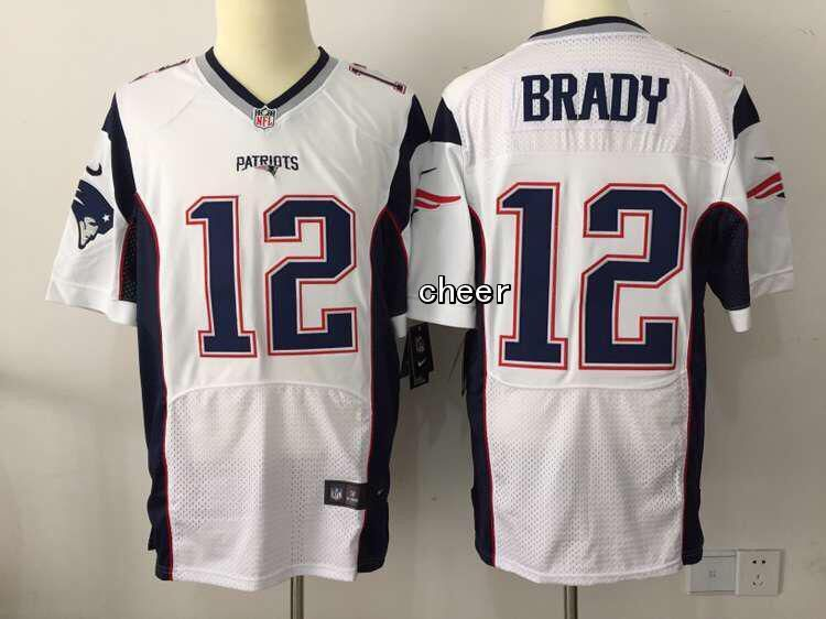 tom brady white elite jersey