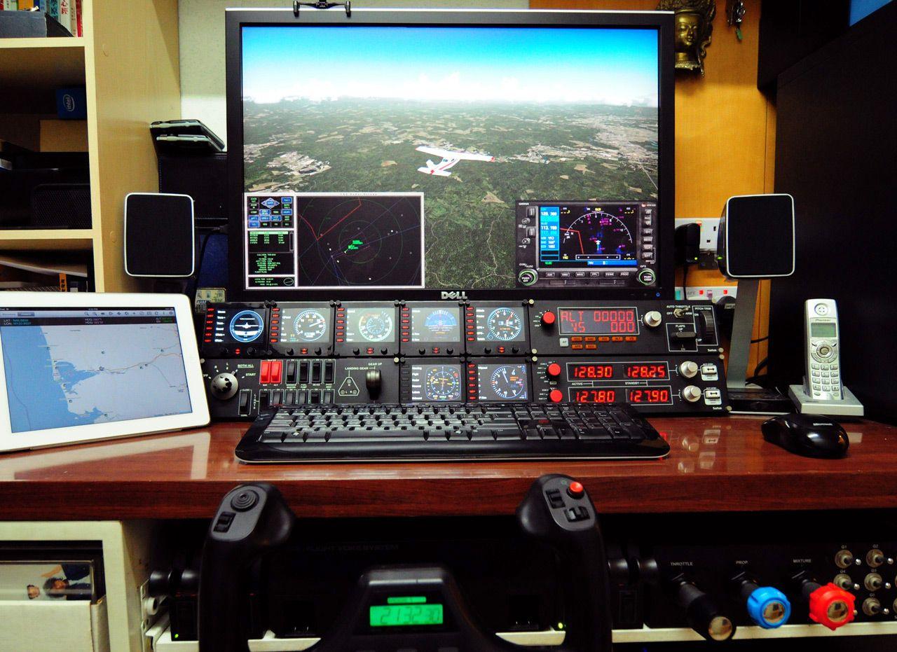 setup01s.jpg (1280×931) Flight simulator, Flight
