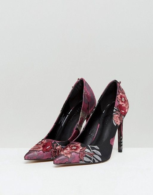 PUZZLE Embroidered High Heels 2014 unisex cheap online clearance Manchester discount clearance store find great cheap price YHJnyiC