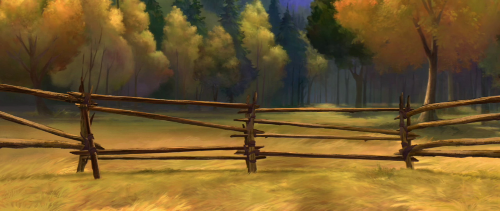 Background From Spirit Stallion Of The Cimarron Background