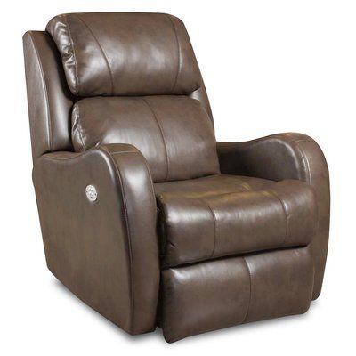 Southern Motion Siri Leather Recliner Body Fabric Surreal Buttercup Wall Hugger Recliners Leather Recliner Southern Motion