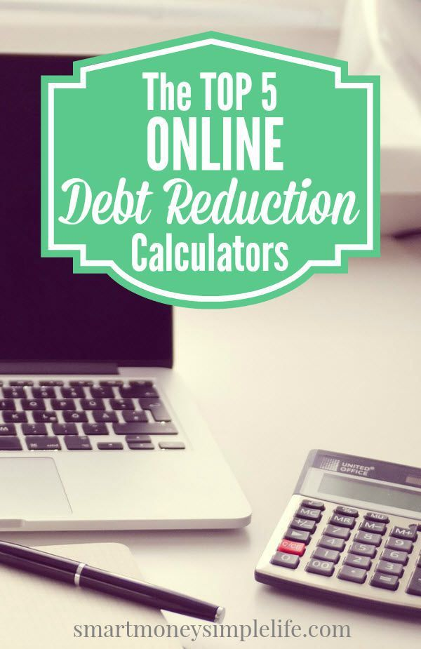 The Top  Online Debt Reduction Calculators  Calculator Personal