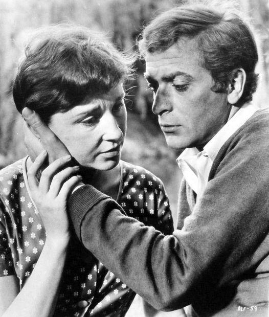 #Sixties | Vivien Merchant and Michael Caine in Alfie, 1966