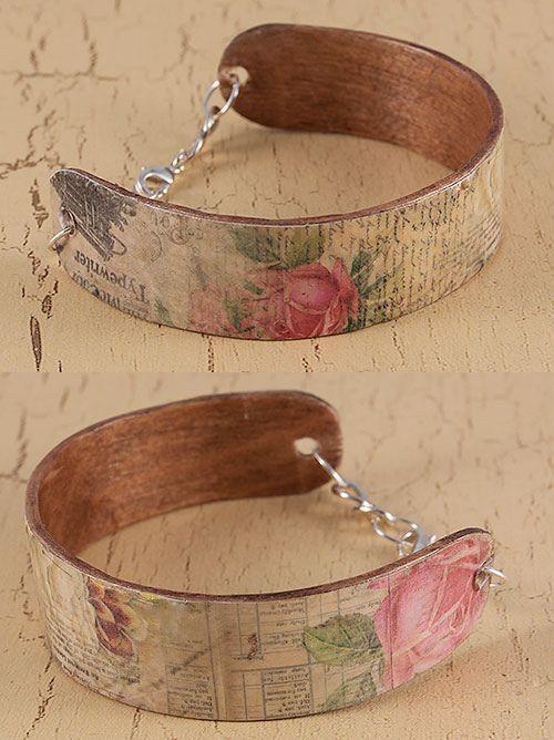 Wooden bracelet | by skuggsida