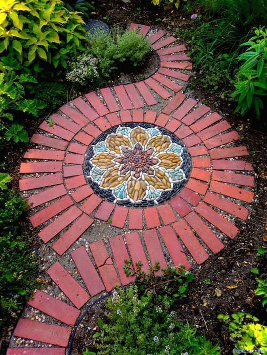 17 extraordinary mosaic garden path design ideas to your on extraordinary garden stone pathway ideas to copy id=45664
