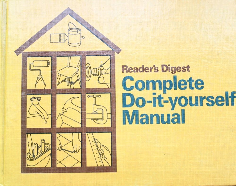 Readers Digest Complete Do-It-Yourself Manual Fix Repair