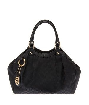 6d5b28e5f9c2 Hobo bags are hot this season! The Gucci Gg Canvas   Leather Trim Sukey  (21445) Hobo Bag is a top 10 member favorite on Tradesy.