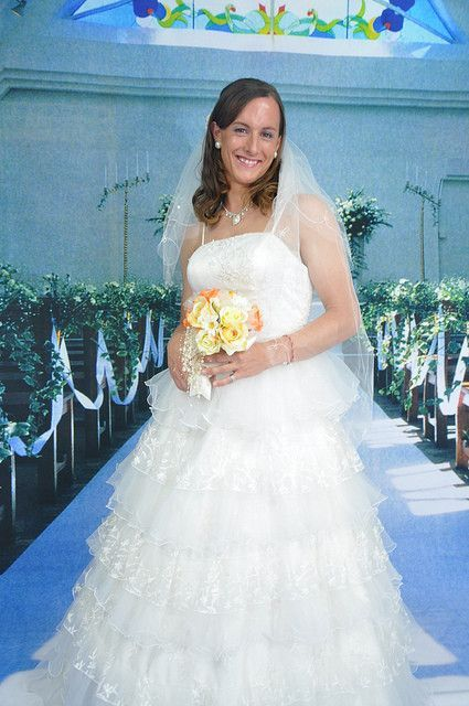 Transsexual wedding dress
