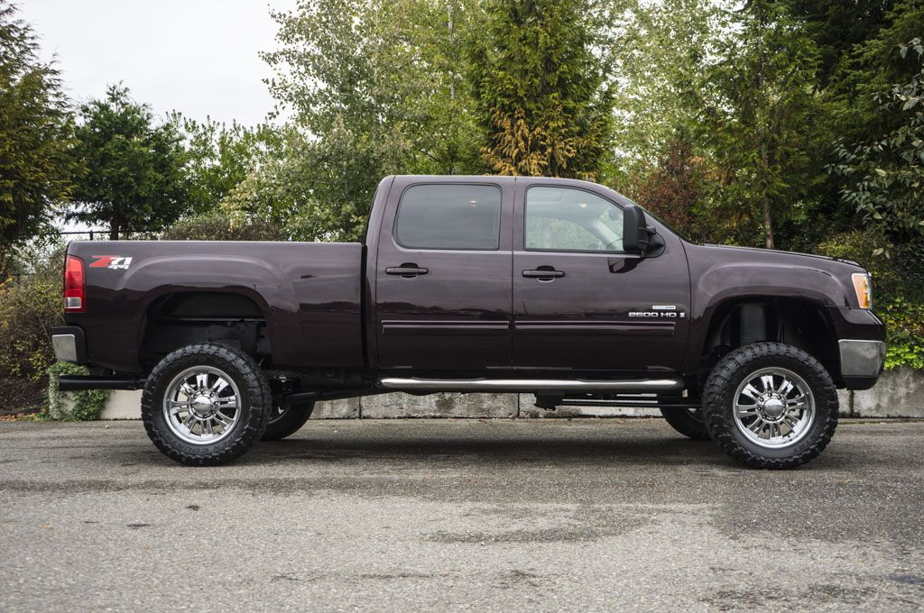 2008 Gmc Sierra 2500hd Slt 4x4 Lifted Diesel Truck For Sale At