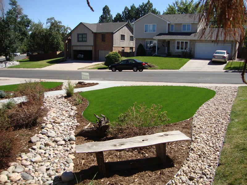 Denver and colorado springs colorado artificial turf sod for Garden design ideas artificial grass