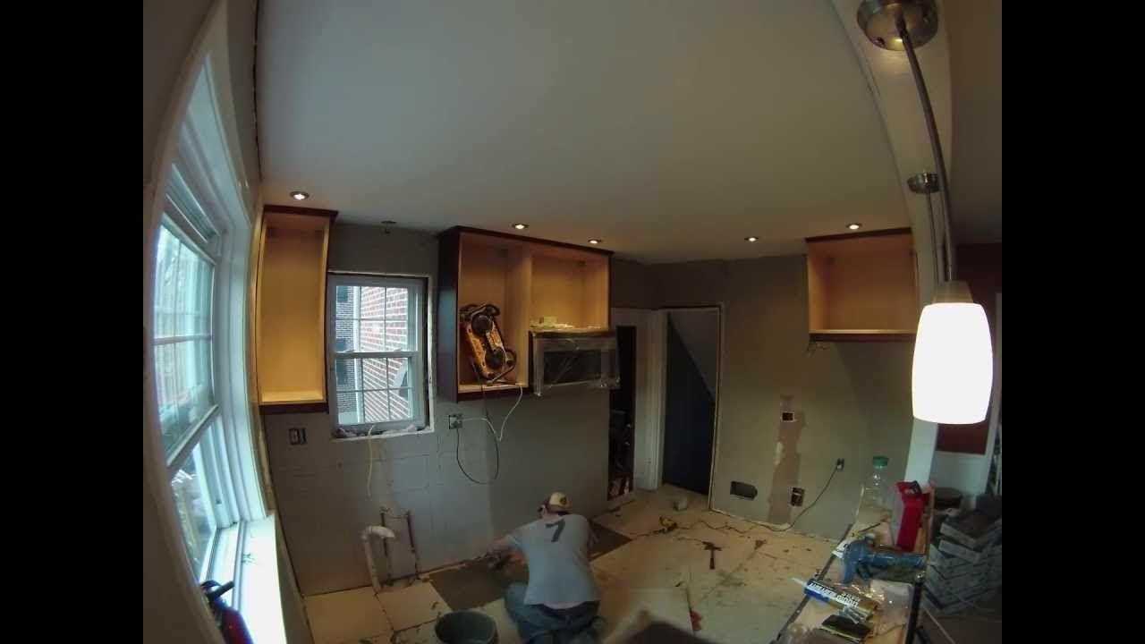 kitchen renovation time lapse gopro log cabin decor 66050384 great rh pinterest com