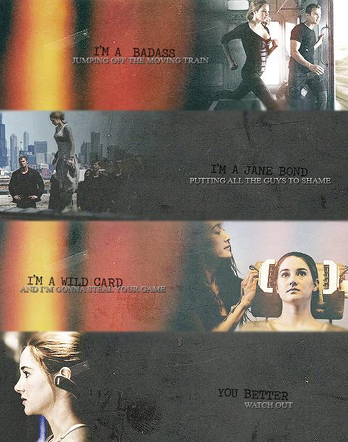 Divergent meets Demi Lovato lyrics