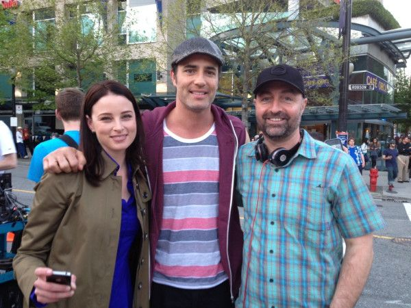 Rachel Nichols, Victor Webster, and Simon Barry