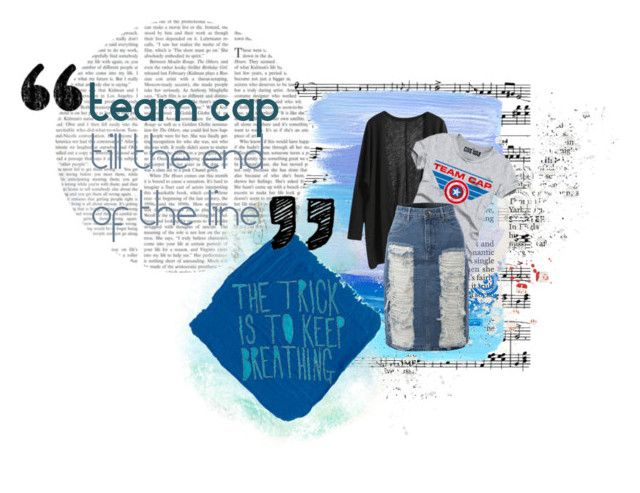 """""""Team cap!"""" by ellie-288 ❤ liked on Polyvore featuring LE3NO"""
