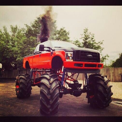 Ford Monster Truck, not on Craigslist, just like it! | 4x4 on