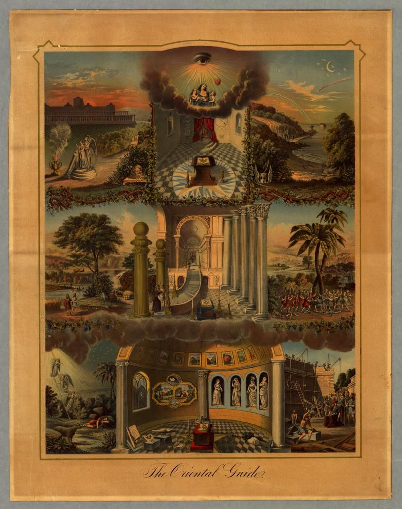 undefined Masonic art, Freemasonry