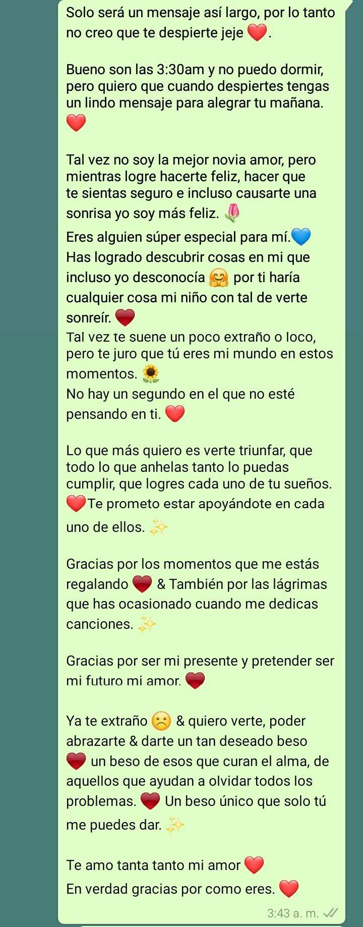 Pin De Emilio Grajales En Tumblr Mensajes De Texto Bonitos Palabras Para Mi Novio Mensaje De Amor Para Novio