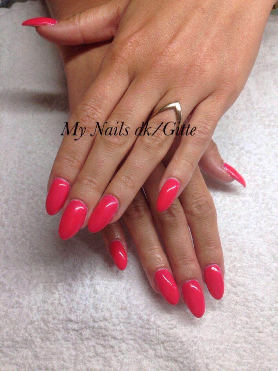 CND Brisa Gele Nails / CND Shellac. Smukke og enkelt. Sommer negle ...