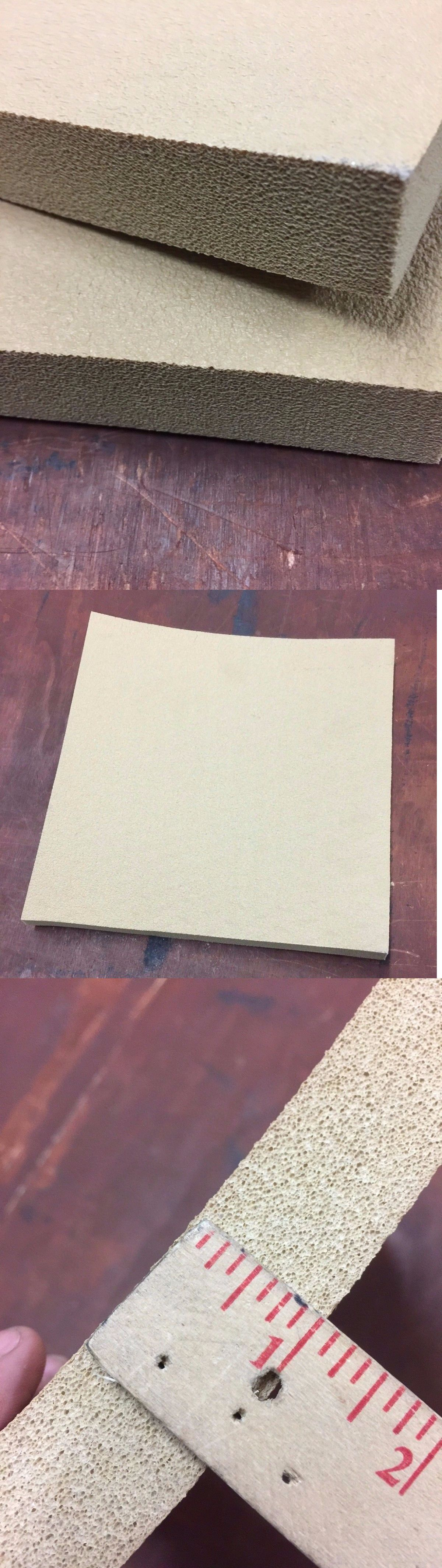 Styrofoam Forms 41200 Kydex Pressing Foam 12 X 12 X 1 25 Inch Tan 2 Pieces One Set Mold Pro Buy It Now Only 16 45 On Ebay With Images Kydex Foam Styrofoam