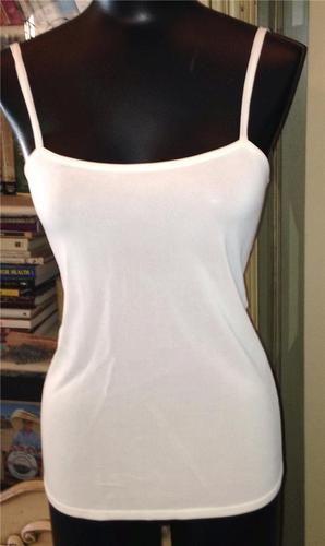 Auth Hermes Paris White Viscose Camisole Blouse Top Shirt Size 36 4 | eBay