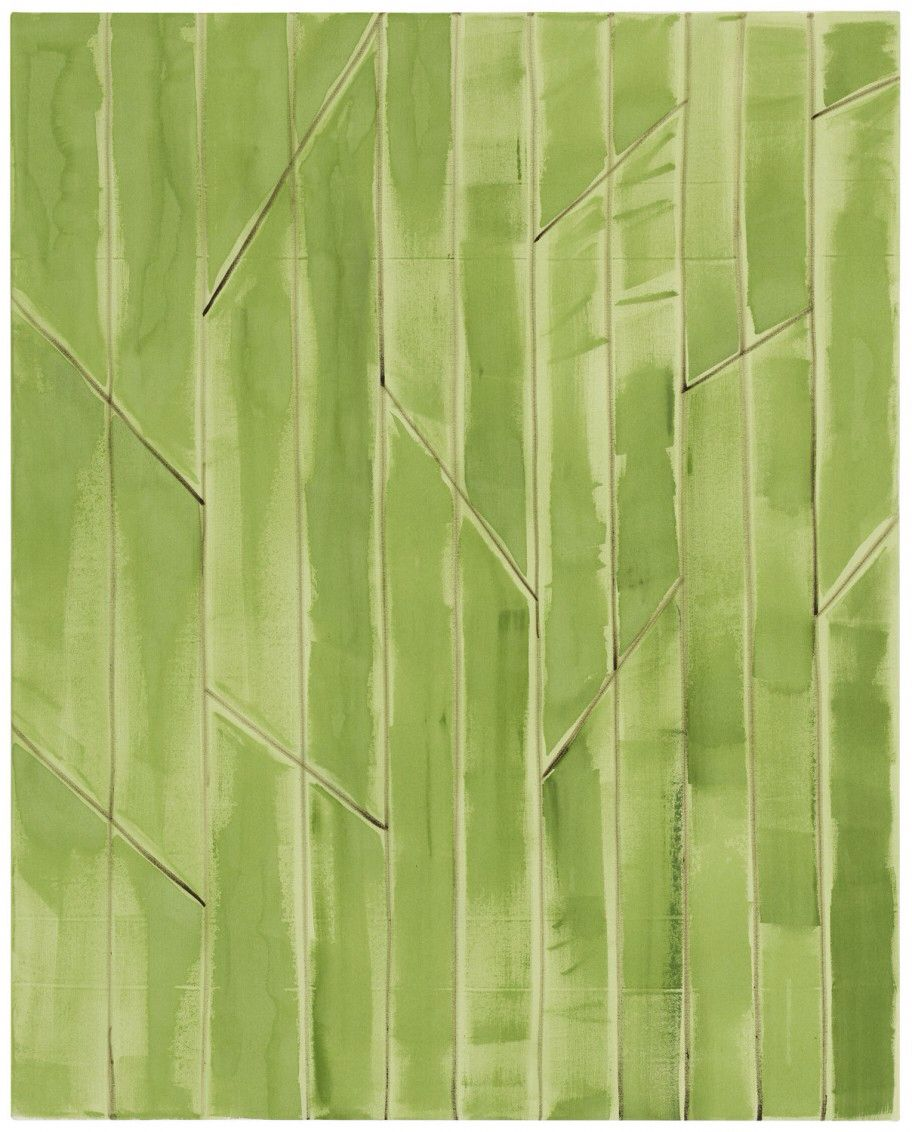 Benjamin Butler  Green Forest, 2014 oil, acrylic on canvas  150 x 120 cm