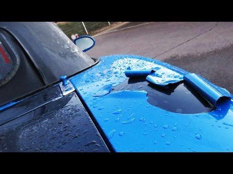 Como pintar un coche en casa - YouTube
