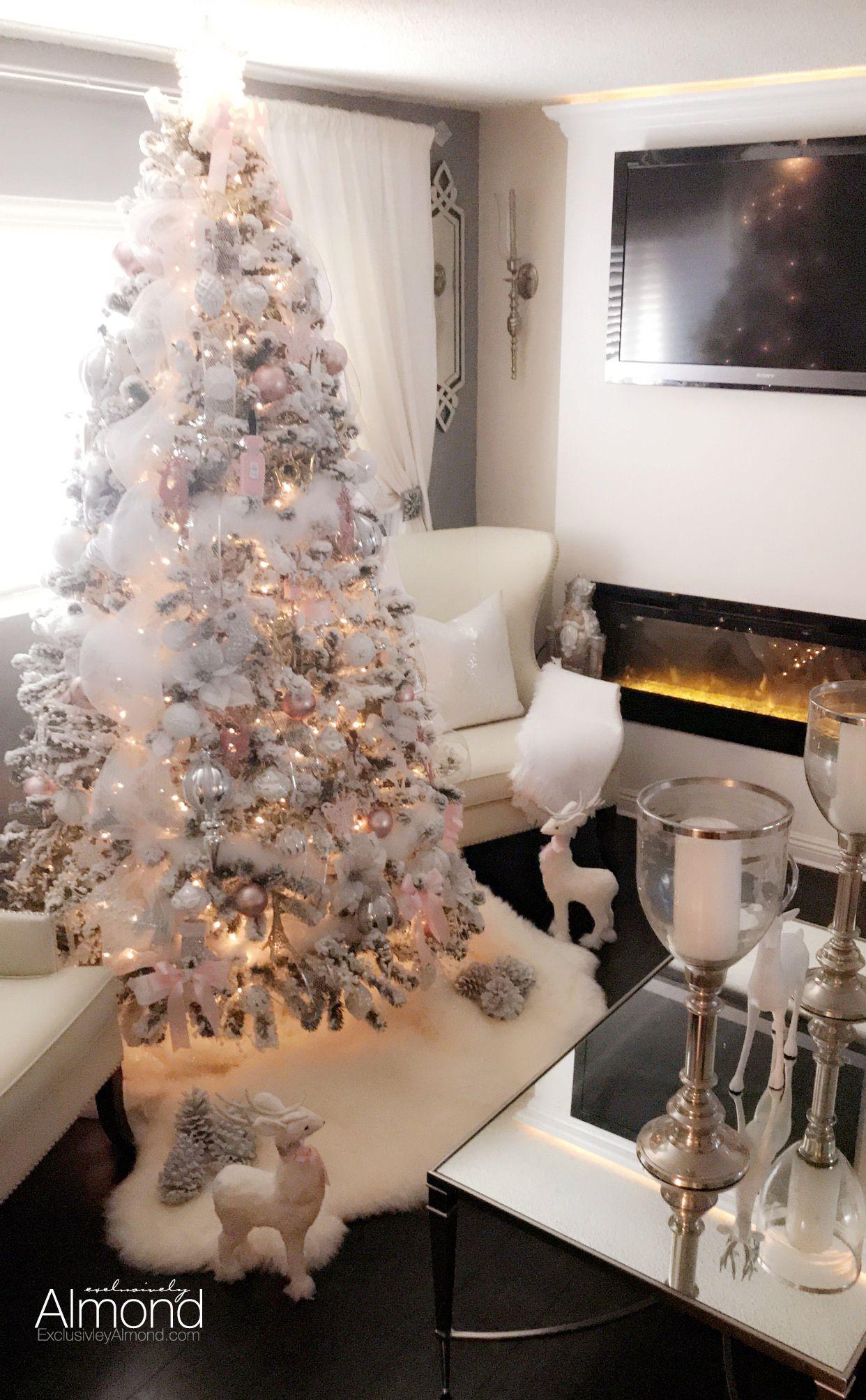 Rose Gold Aka Blush Pink Christmas Tree Decorations 2017 Decorate