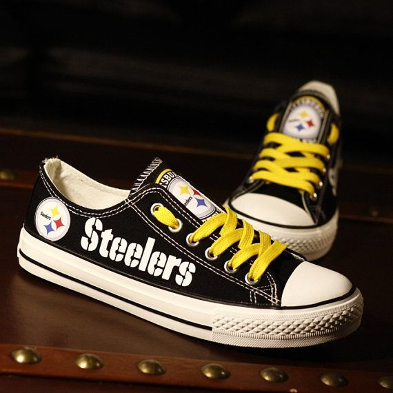 f081b9a4a34ae1 ... Pittsburgh Steelers shoes fashion Sneakers Steelers Tennis Shoes Unisex  Dallas Cowboys Nike Turbo Shox ...
