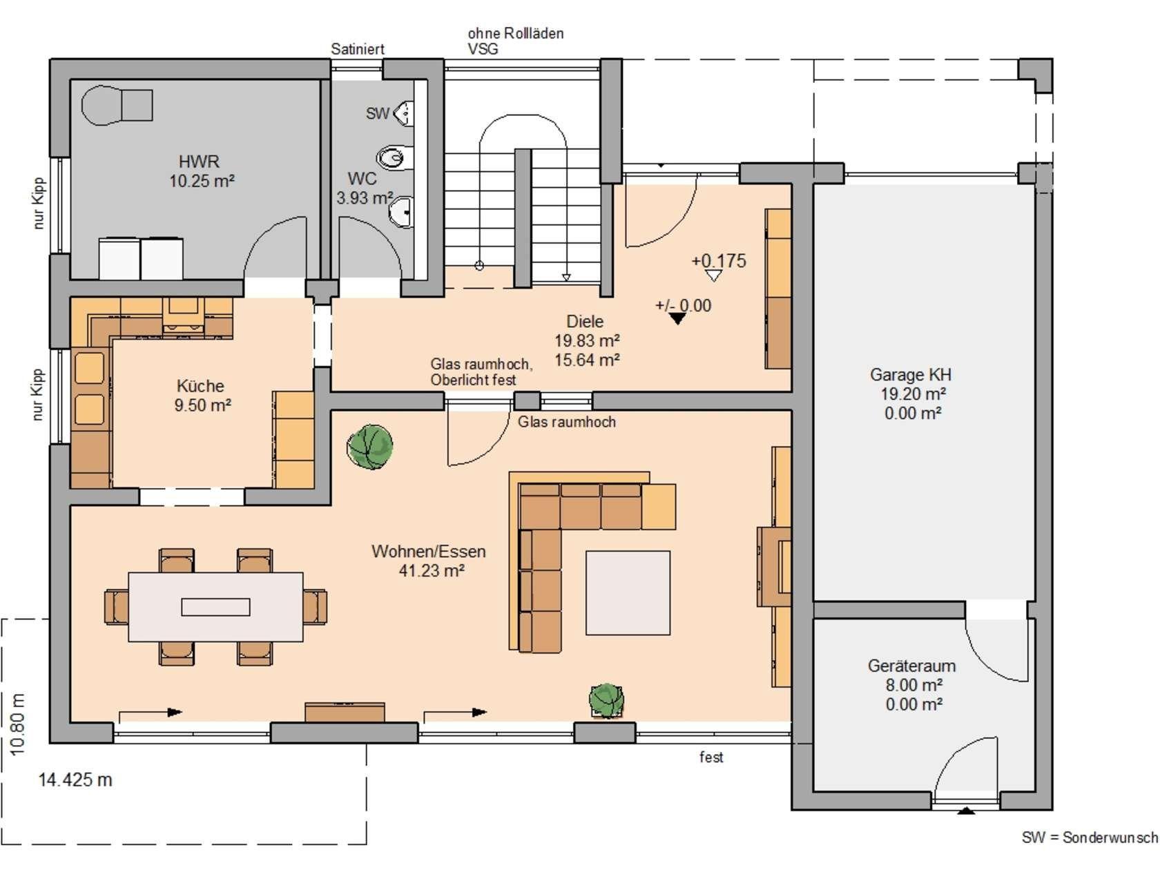 Bauhäuser Haus grundriss, Grundriss einfamilienhaus und Haus