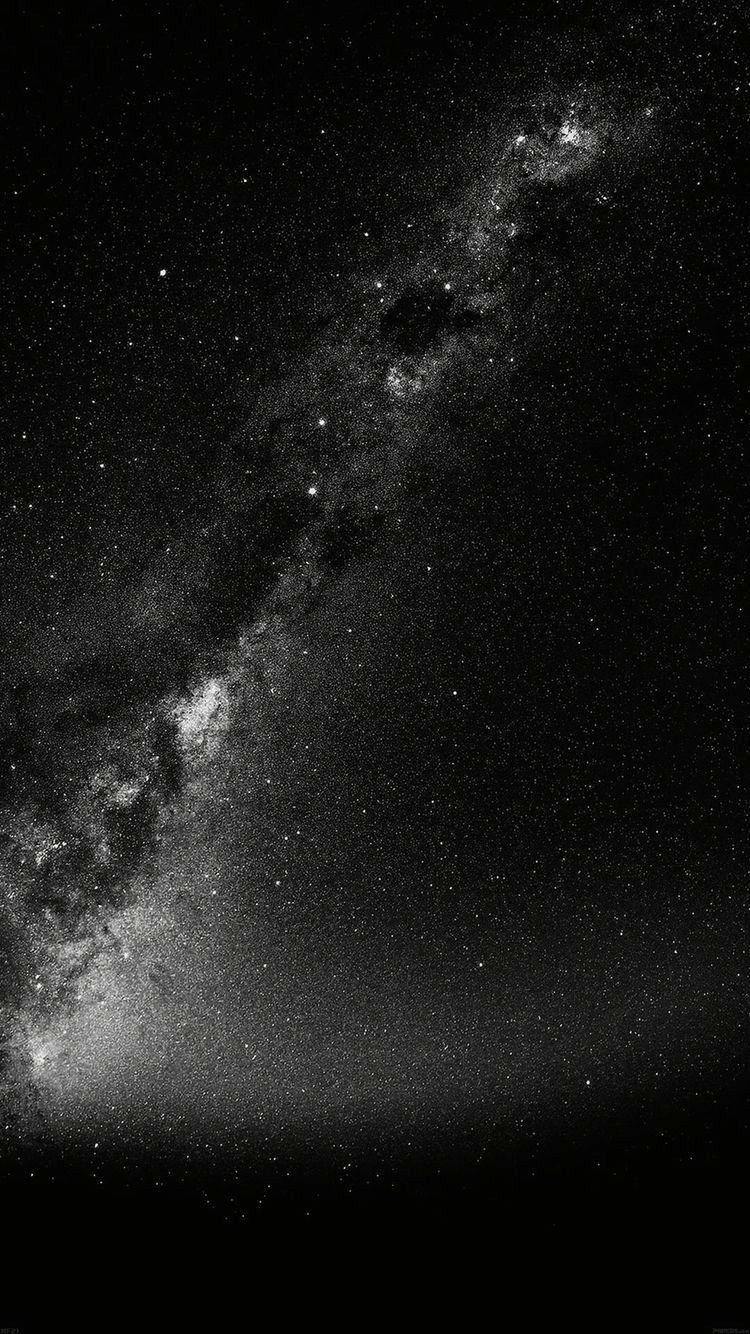 Galaxy hintergrund schwarz