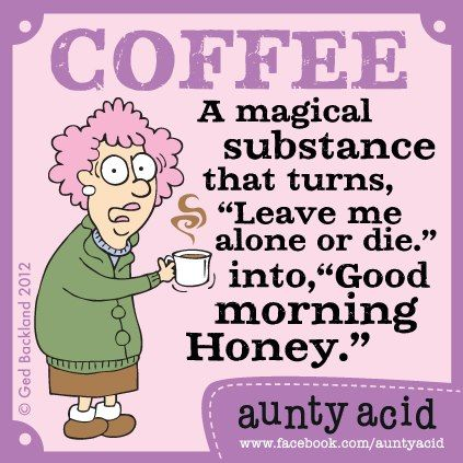 """""""I put instant coffee in a microwave and almost went back in time."""" ~ Steven Wright #coffee #humor"""